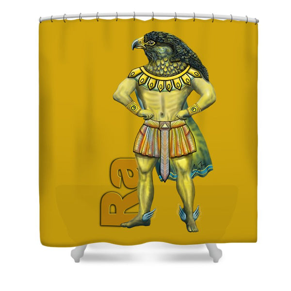 Ra, The Sun God - Shower Curtain