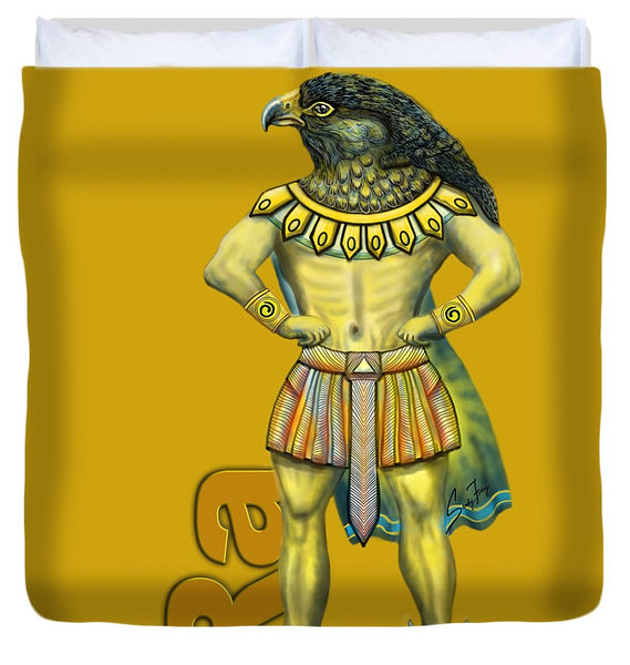 Ra, The Sun God - Duvet Cover