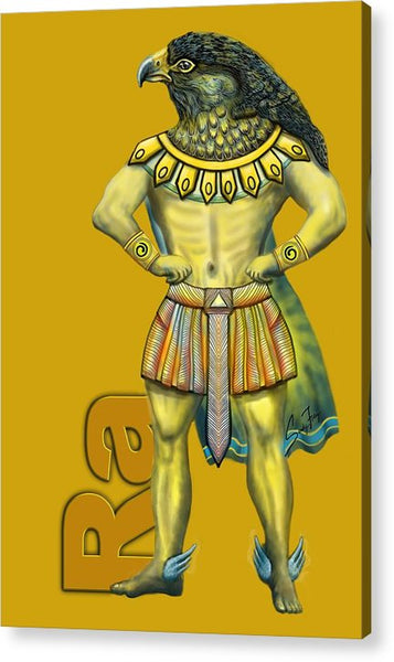 Ra, The Sun God - Acrylic Print