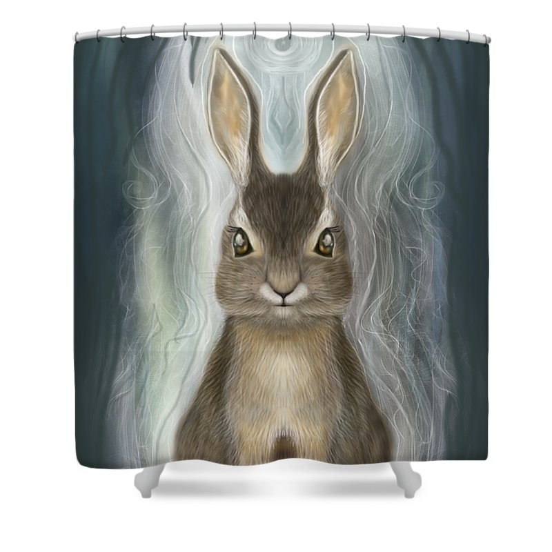 Rabbit Guide - Shower Curtain