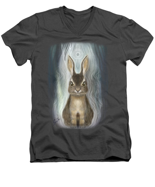 Rabbit Guide - Men's V-Neck T-Shirt