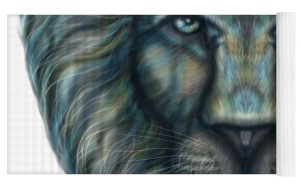Radiant Rainbow Lion - Yoga Mat