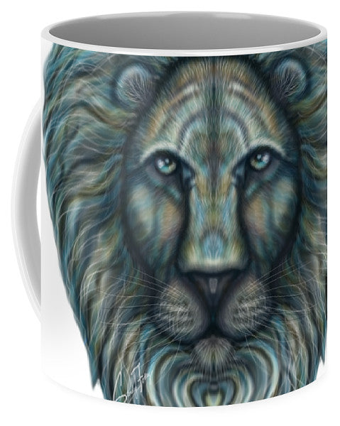 Radiant Rainbow Lion - Mug