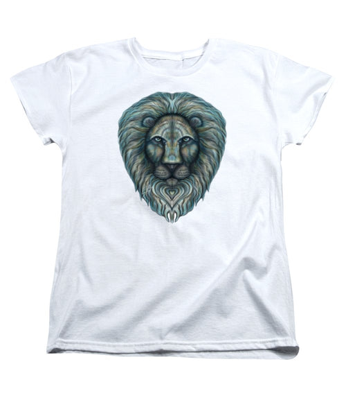 Radiant Rainbow Lion - Women's T-Shirt (Standard Fit)