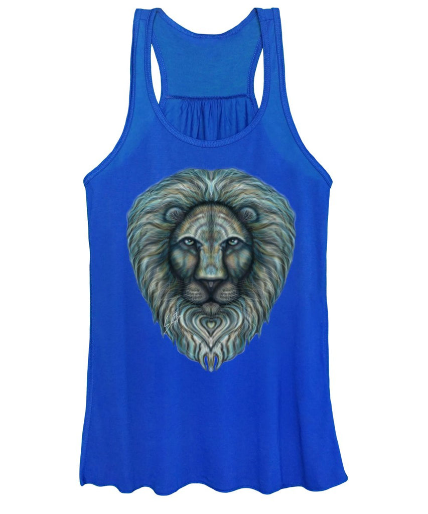 Radiant Rainbow Lion - Women's Tank Top