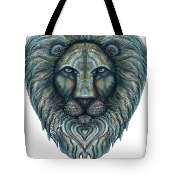 Radiant Rainbow Lion - Tote Bag