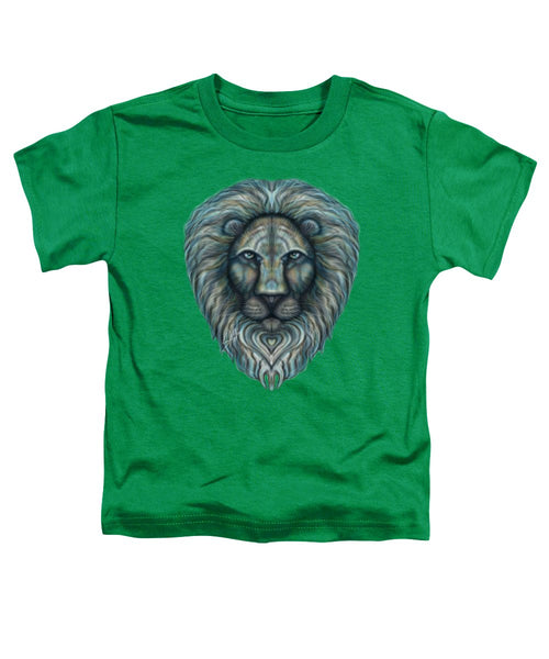 Radiant Rainbow Lion - Toddler T-Shirt