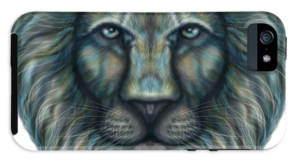 Radiant Rainbow Lion - Phone Case