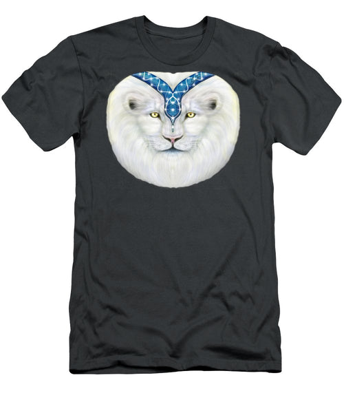 Sacred White Lion - Men's T-Shirt (Athletic Fit)