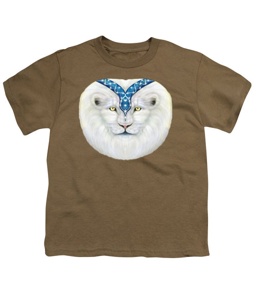 Sacred White Lion - Youth T-Shirt