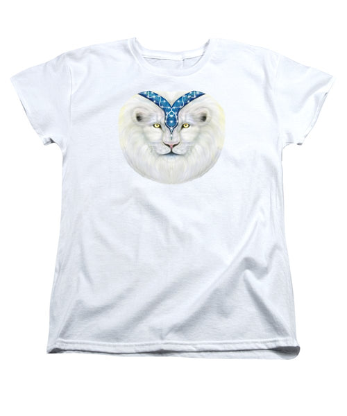 Sacred White Lion - Women's T-Shirt (Standard Fit)