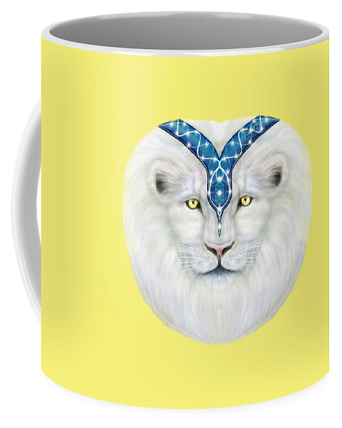 Sacred White Lion - Mug