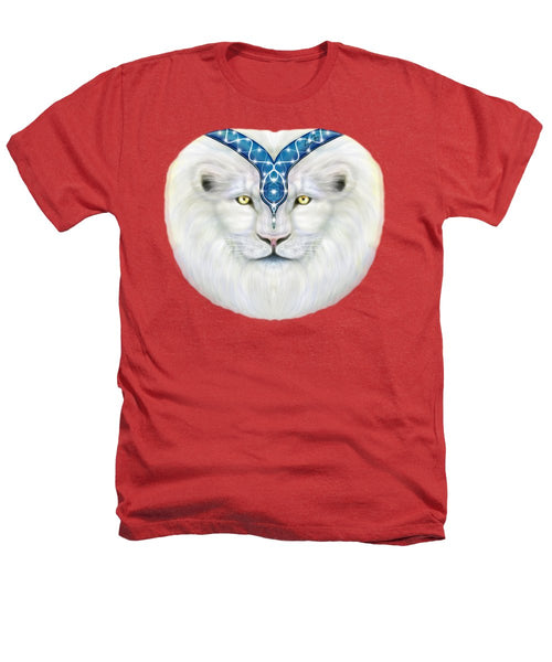 Sacred White Lion - Heathers T-Shirt