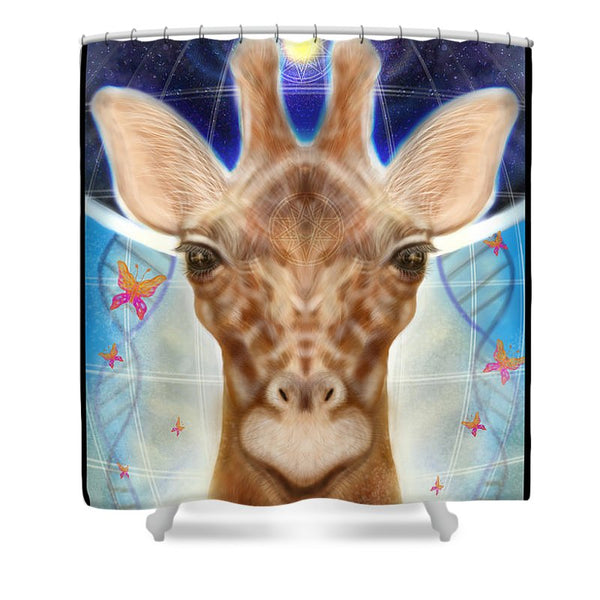 Shine Brightly - Shower Curtain