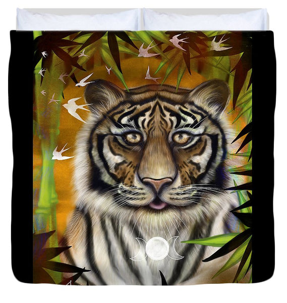 Tiger Wisdom - Duvet Cover