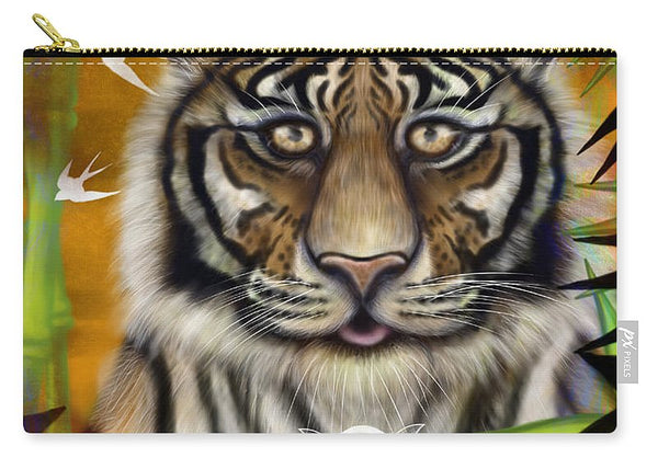 Tiger Wisdom - Carry-All Pouch