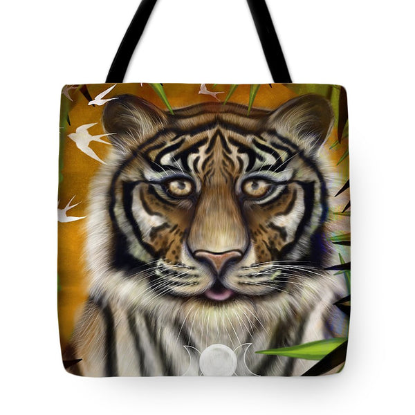 Tiger Wisdom - Tote Bag
