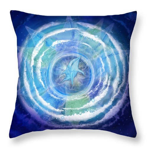 Transcendence - Throw Pillow