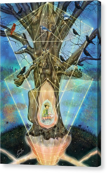 Wisdom Keeper - Canvas Print