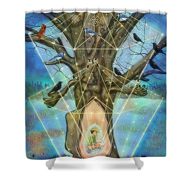 Wisdom Keeper - Shower Curtain