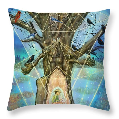 Wisdom Keeper - Throw Pillow