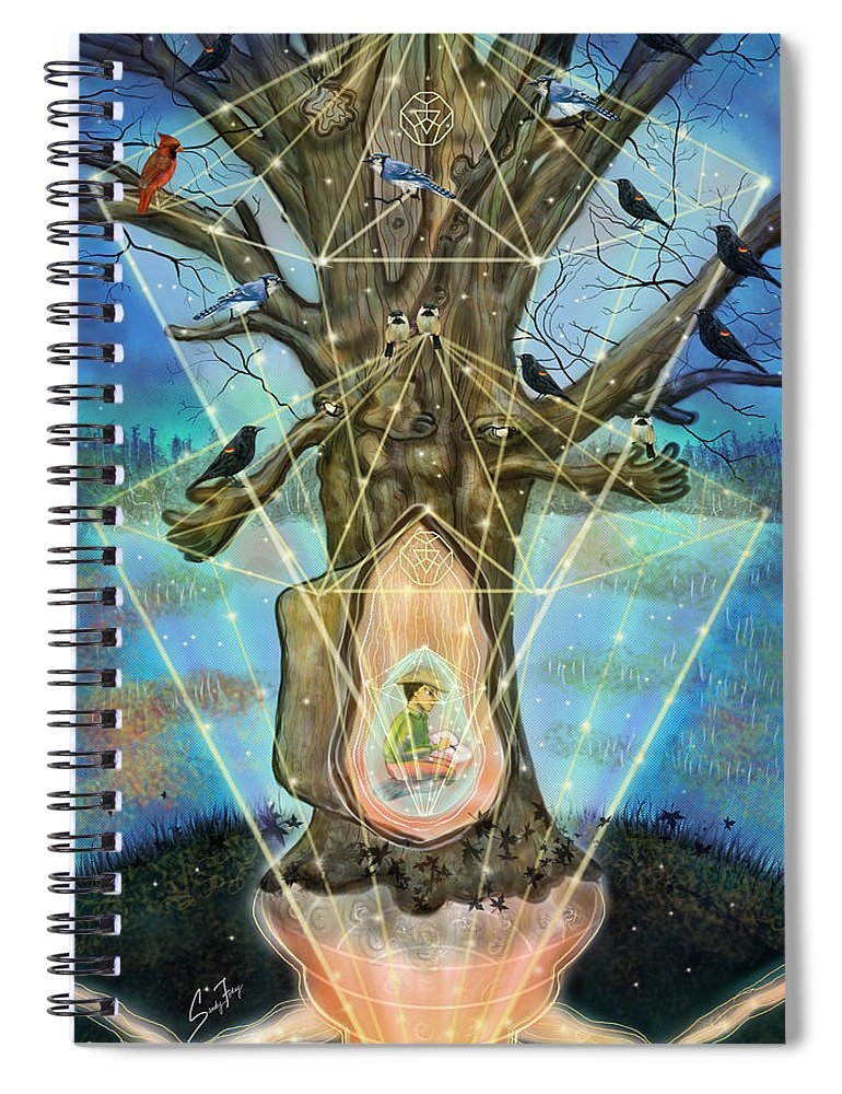 Wisdom Keeper - Spiral Notebook