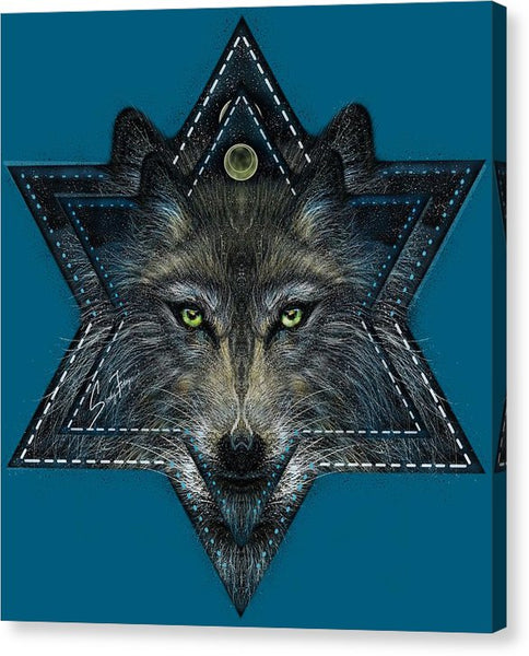 Wolf Star - Canvas Print