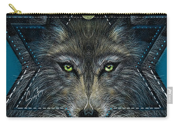 Wolf Star - Carry-All Pouch