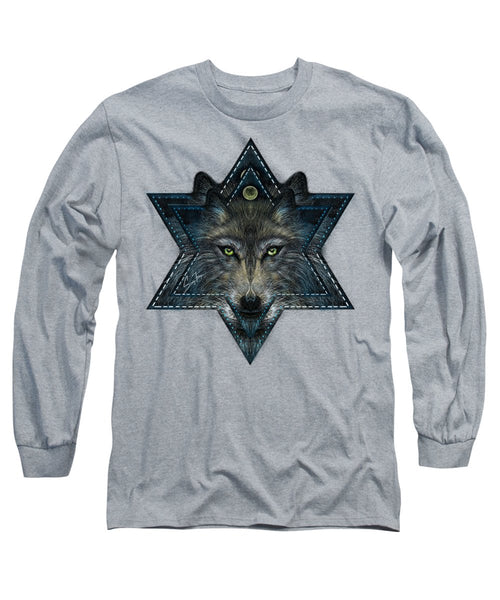 Wolf Star - Long Sleeve T-Shirt