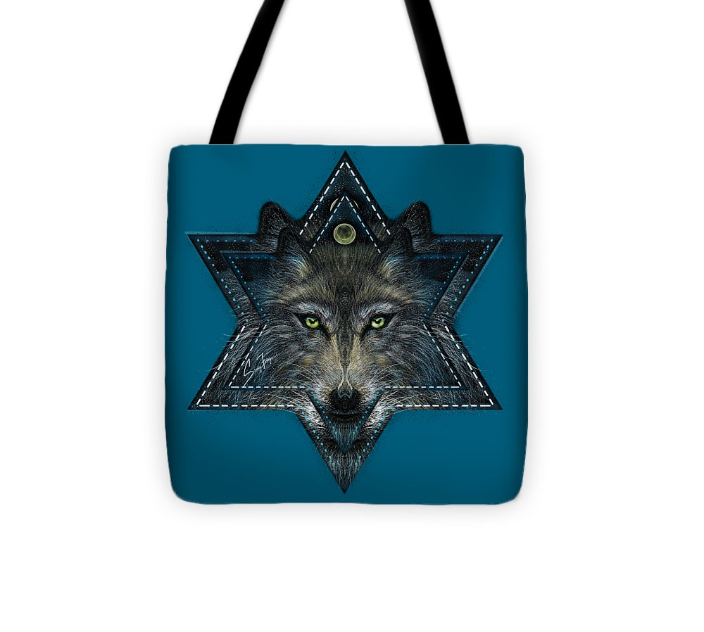 Wolf Star - Tote Bag