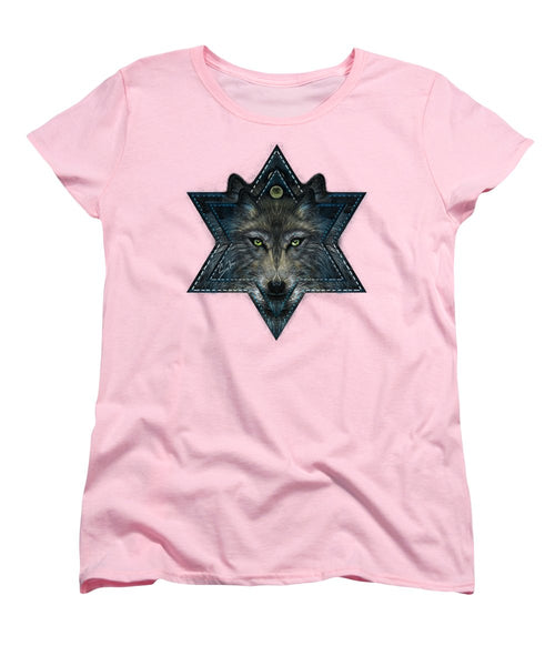 Wolf Star - Women's T-Shirt (Standard Fit)