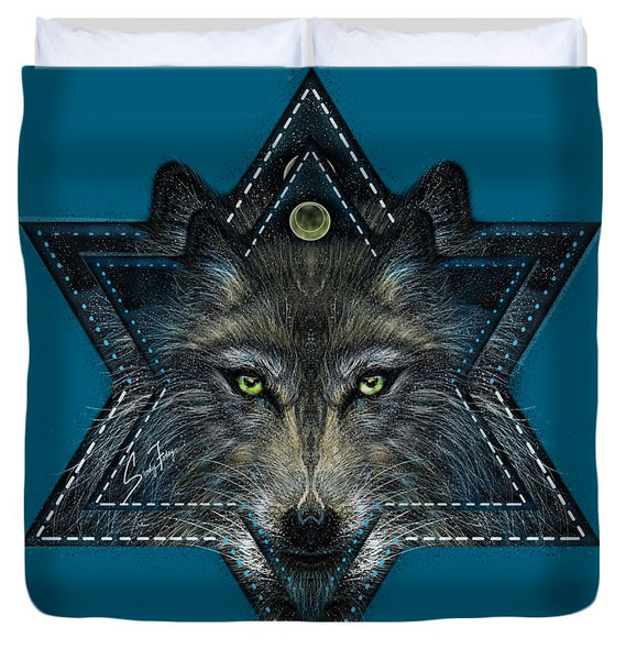 Wolf Star - Duvet Cover