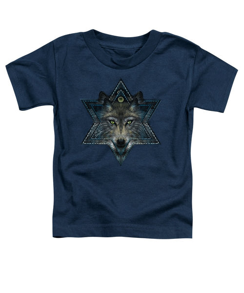 Wolf Star - Toddler T-Shirt