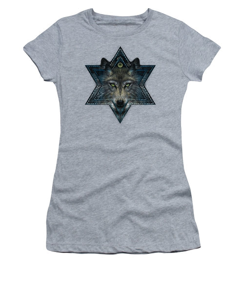 Wolf Star - Women's T-Shirt