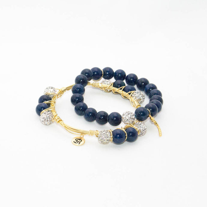 Midnight Starlight Bangle
