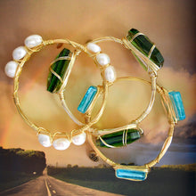 """Lollie"" Freshwater Pearl Bangle Bracelet"