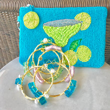 """Parakeet"" Glass Bangle Bracelet"