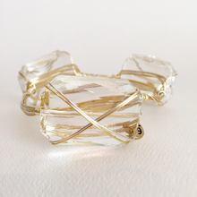"""Italian Ice"" Crystal Bangle Bracelet"