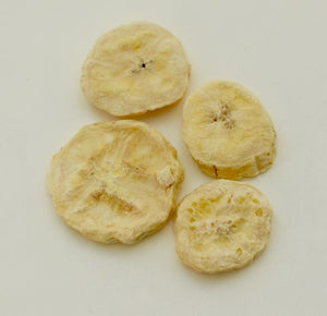 Freeze-dried Banana slices (25 servings)