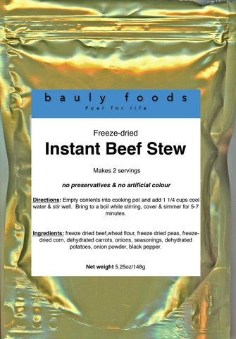 Super Beef Stroganoff (2 servings in convenient re-sealable pouch)