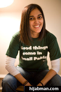 "Ladies' ""Good Things Come in Small Pakis"" Short Sleeve Shirt"