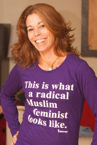 "Ladies' ""This Is What A Radical Muslim Feminist Looks Like"" T-Shirt"