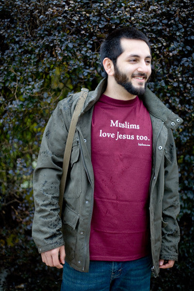 "Unisex ""Muslims Love Jesus Too."" Short Sleeve Shirt"