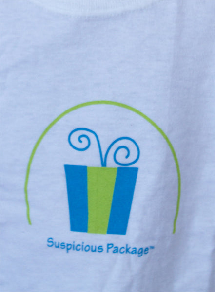 "Kids ""Suspicious Package"" Short Sleeve Shirt"