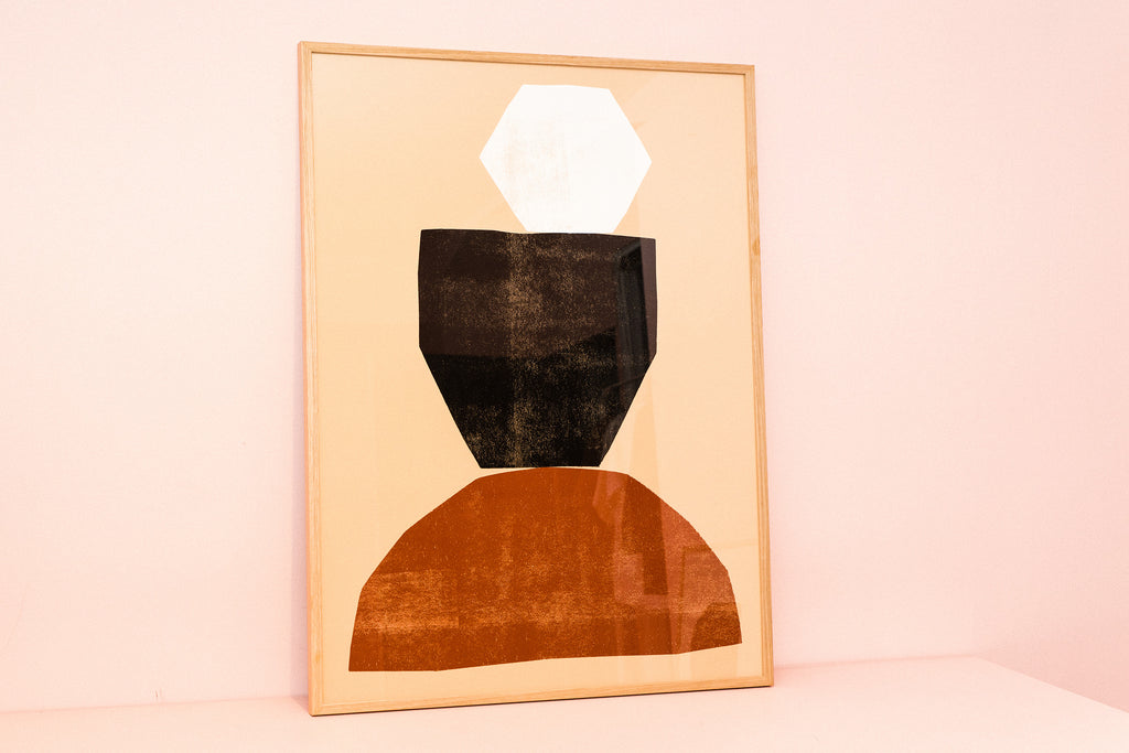 Shape and Balance No. I — Giclée Print