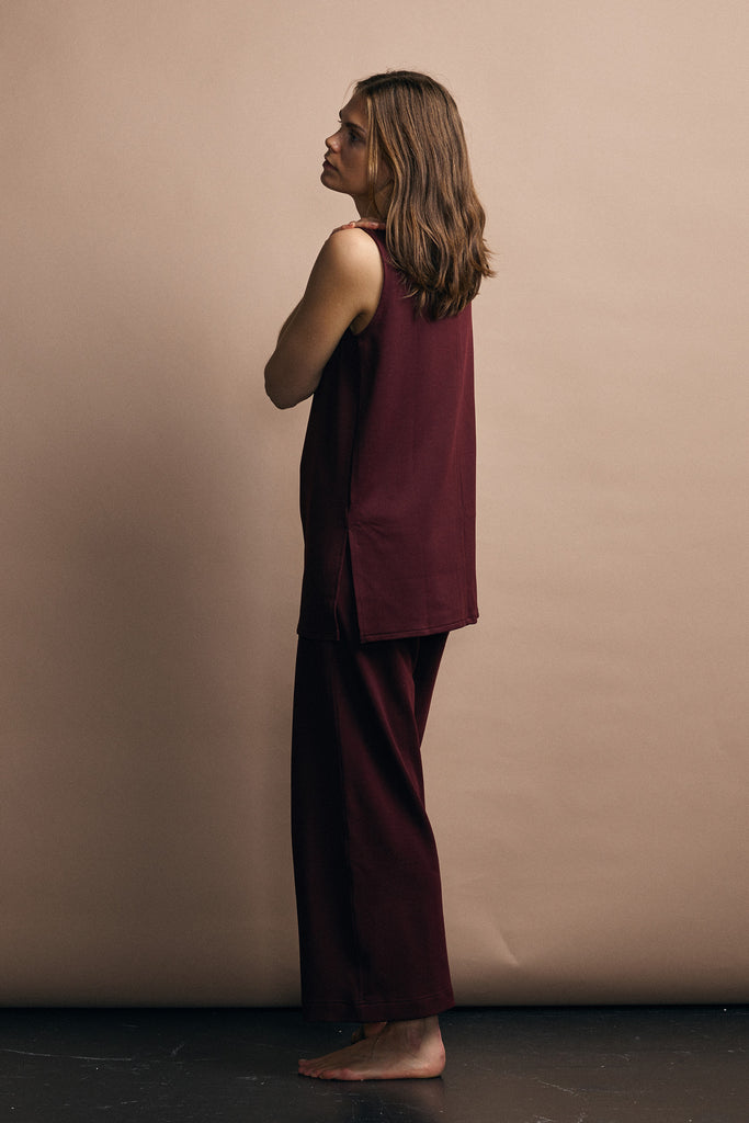 Sunday - Ruby Tunic