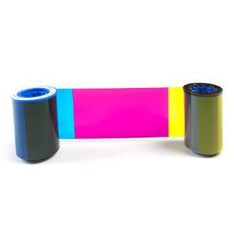 Zebra iSeries color ribbon 6 Panel YMCKOK with 1 cleaning roller, 170 images
