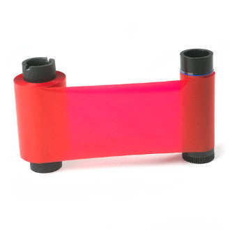Magicard ribbon for Rio/Tango printers, LC3/D Red Monochrome