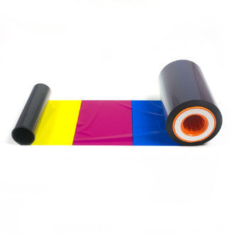DCP360 5-Panel (Y,M,C,K,OP) Color Ribbon