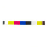Zebra C Series 5 panel color ribbon, YMCKO, 200 images